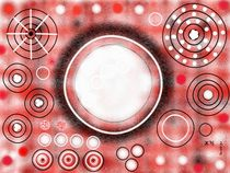 Rot - Weiß - Schwarz - Kreation by Heide Pfannenschwarz