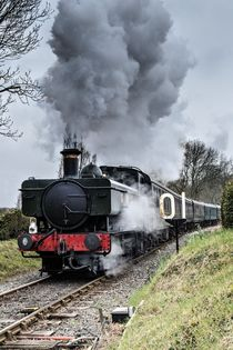 Steam Locomotive von Jeremy Sage