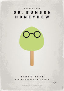 My MUPPET ICE POP - Dr Bunsen Honeydew by chungkong