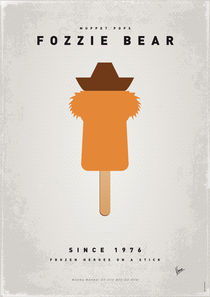 My MUPPET ICE POP - Fozzie Bear von chungkong