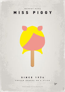 My MUPPET ICE POP - Miss Piggy von chungkong