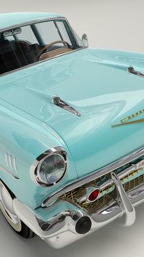 Chevrolet Bel Air 1957 - Cyan von Marco Romero