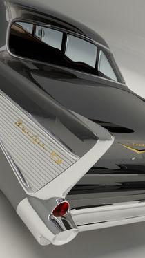 Chevrolet Bel Air 1957 - Black von Marco Romero