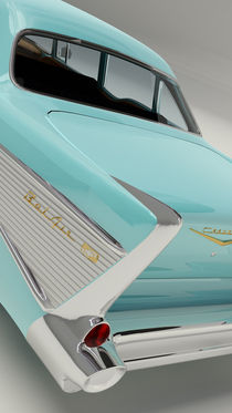 Chevrolet Bel Air 1957 - Cyan by Marco Romero
