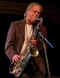 The Sax Player by Keld Bach