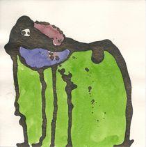 Mit Burka schwamm sie in einem grünen Meer von Wolfgang Wende