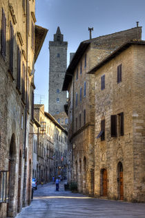 San Gimignano von David Tinsley