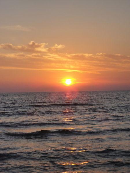 Sunset-red