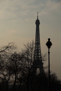 Eifel Turm bei Sonnenuntergang by Tine Steiss