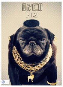 MR. T - Pug Style by Hey Frank!