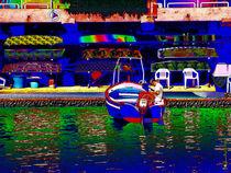 Ognina - Barche von Renato Ventura