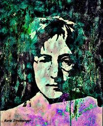 John Lennon 2 by Marie Luise Strohmenger