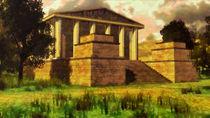 Greco-Roman Temple 1 by Samulis Augustus
