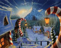 Christmas town von Maja Cuk