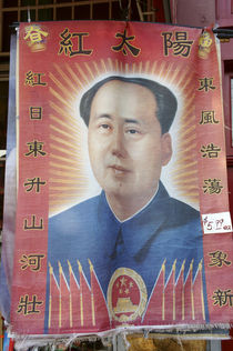Young Chairman Mao  by John Mitchell