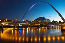 Millenium Bridge Gateshead by Martin Williams
