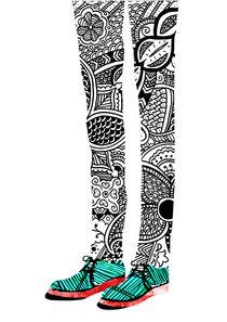 Collage Shoes von Danny Jardim
