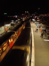 Hamburg Jungfernstieg von Felix Matthies