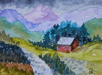 Mountain Cottage 2 by Warren Thompson