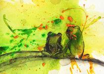 Froschpaar von Conny Wachsmann