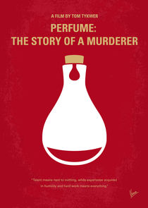 No194 My Perfume The Story of a Murderer minimal movie poster von chungkong