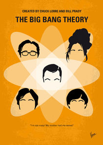 No196-my-the-big-bang-theory-minimal-poster