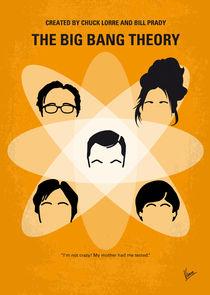 No196 My The Big Bang Theory minimal poster by chungkong