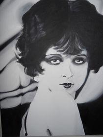 Clara Bow I by Gene Davis