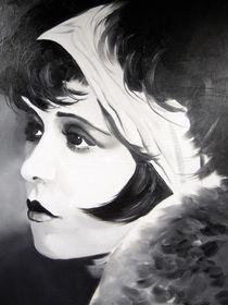 Clara Bow IV by Gene Davis