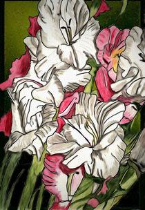 Gladiolen von Marie Luise Strohmenger