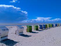 Strandkörbe I von juliane-brueggemann