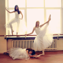 In the ballet school II von Malgorzata Topolska