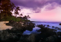 Colorful Sunset Maui by Melissa Salter