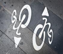Fahrradweg von peter backens