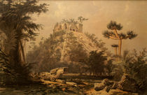 El Castillo at Chichen Itza by Frederick Catherwood by John Mitchell