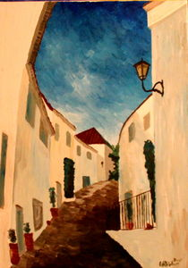 Alpujarra The White Village In Andalucia by M.  Bleichner