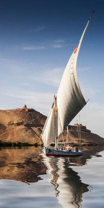 Sailing the Nile von David Tinsley