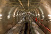 Karakoy Tunnel Line von Evren Kalinbacak