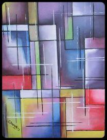 Abstrakte Malerei von Eva Borowski