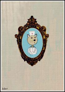 Paramedic Bear poster by meri-misljen