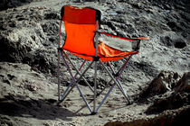 No Ones  Beach Chair von Larisa Kroshkin