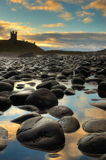 Dunstanburgh Castle, Northumberland von Martin Williams