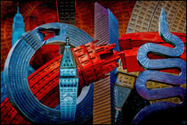 New York Sculpture City von Chris Lord