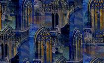 Gotik in blau von Marie Luise Strohmenger