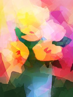 Flower-cubicdeco