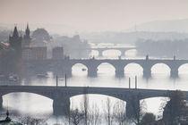 Prager Brücken von Anne-Barbara Bernhard