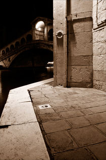 View of the Rialto by Martin Williams