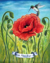 La Fleur Rouge by Andrea Peterson