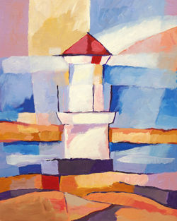 Lighthouse-painting