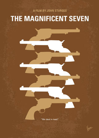 No197-my-the-magnificent-seven-minimal-movie-poster